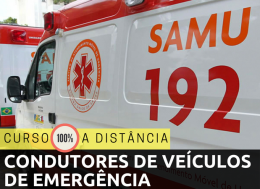CONDUTORES DE VEÍCULOS DE EMERGÊNCIA