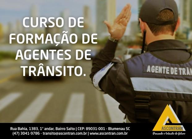 CURSO DE FORMAÇÃO DE AGENTES DE TRÂNSITO