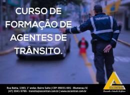 CURSO DE FORMAÇÃO DE AGENTES DA AUTORIDADE DE TRÂNSITO - Faça sua reserva! Lages/SC