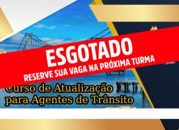 CURSO DE ATUALIZAÇÃO PARA AGENTES DE TRÂNSITO - FLORIANÓPOLIS/SC